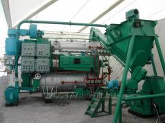 Rybomuchny installations for production of feed