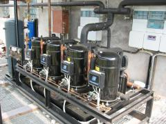 Industrial refrigerating appliances