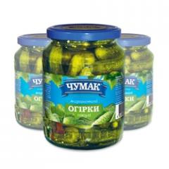 """Marinated Cucumbers """"Pikul"""" in a"""