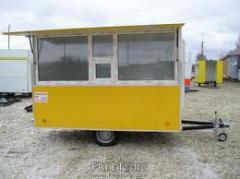Booth on wheels
