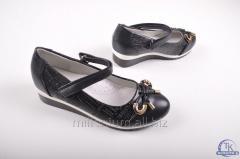 Туфли для девочки (цв. чёрный) W.niko 777-7