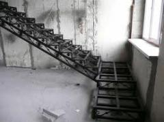 Metal frameworks of ladders