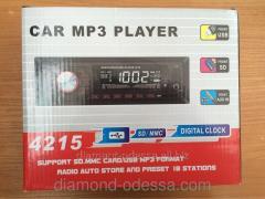 Car MP3 4215 autoradio tape recorder