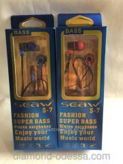S-7 earphones