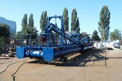 Small dredges with a productivity up to 50 m ³ /