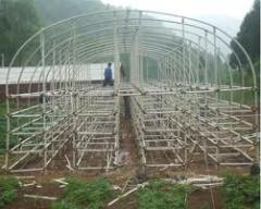 Frameworks of greenhouses
