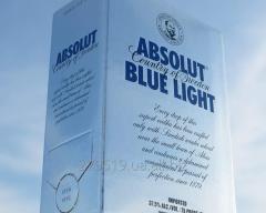 Водка Absolut BlueLight Абсолют 3L