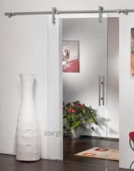 Doors from glass diamond
