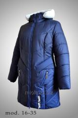 The jacket is winter, model 16-35