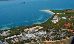The earth in Croatia the island of Brach