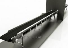 The conveyor is drying inclined