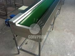 Steel conveyors for a public catering