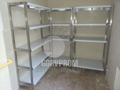 Racks welded of stainless steel, Dnipropetrovsk