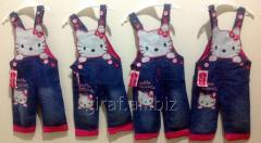 Jeans overalls of Kitty, 6mes-3god, in growth. 4