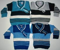 Kids club sweater a scarf for 3, 4, 5 years, in