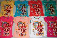Devochka-Romashka t-shirt for 5-8 years, in