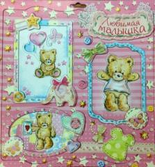 Fotoramka-samokleyka Favourite baby 14BS0408-59