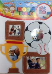Collage Nursery 1004 14BS0827-2 soccer of Room