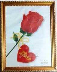 Bagetnaya Pletyonk's frame 30x40 CLD8306