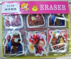 Eraser Masha and Medved 1120