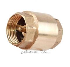 Backpressure brass valve muftovy
