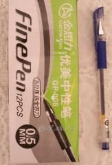 Gel pen, color blue GP-008