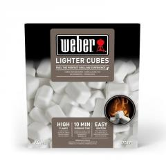 Cubes for ignition, 24 pieces, weber