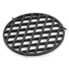 Pig-iron lattice for a stake of gourmet bbq system