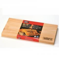Cedar boards for smoking, weber