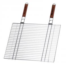 The double chromeplated lattice with two wooden
