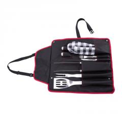 Set apron for bn-100 barbecue, a camping