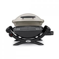 Gas grill of q1000, weber