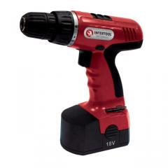 Cordless screwdriver 18v, 2 accumulators, 1.2ach,
