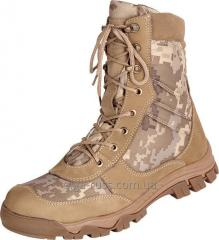 Army boots nubuck model 4345 Winter (fur, fur of the tsigal sheep) Summer (grid)