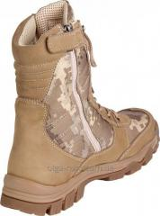 Army boots nubuck model 4346 Winter (fur, ...