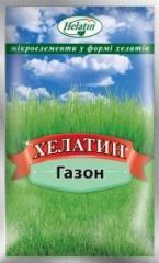Helatin a lawn — fertilizer, a vosor of 50 ml