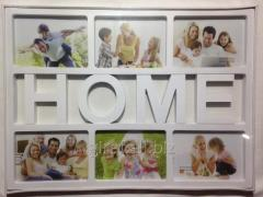 Collage on 6 photos, Home YY809 407-40