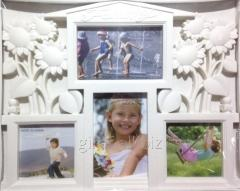 Frame a collage on 4 photos, Family-Dom, 407-19,
