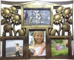 Frame a collage on 4 photos, Family-Dom, 407-20,