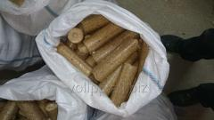 Fuel briquettes of Nestro from wood