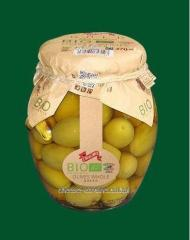 Bio olives with a stone