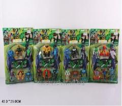 Toys Heroes ben10 55123 (96sht/2) 6 heroes and a