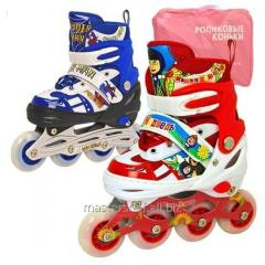 E02857 rollers (6 pieces) size 34-37, metall.rama,