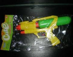 Водяной пистолет a319 (288шт/2) с насосом,в пакете