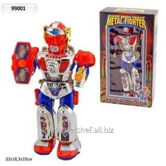 The robot on batar. 99001 (24 pieces) with the