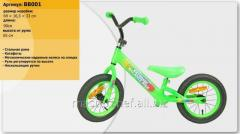 Bb001 runbike (1 piece) steel frame, katafota