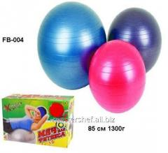 Ball fb-004, rubber for fitness (20 pieces) of 85