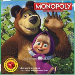 Monopoly 6156 (24sht/2) Masha and a bear in box.