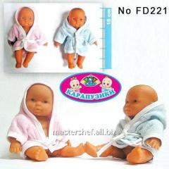 Baby doll of fd221 (288sht/2) rubber, 6 pieces, in