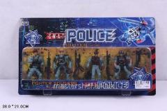 Полицейский набор police 5898-a3 (72шт/2)